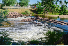 The South Platte River runs near a farm in Henderson near one of the possible reservoir sites for a regional water project proposed by a working group of Front Range water providers.