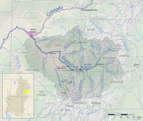 Gunnison River Basin. By Shannon1 - Own work, CC BY-SA 4.0, https://commons.wikimedia.org/w/index.php?curid=69257550