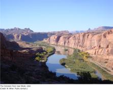 Colorado River near Moab, Utah.