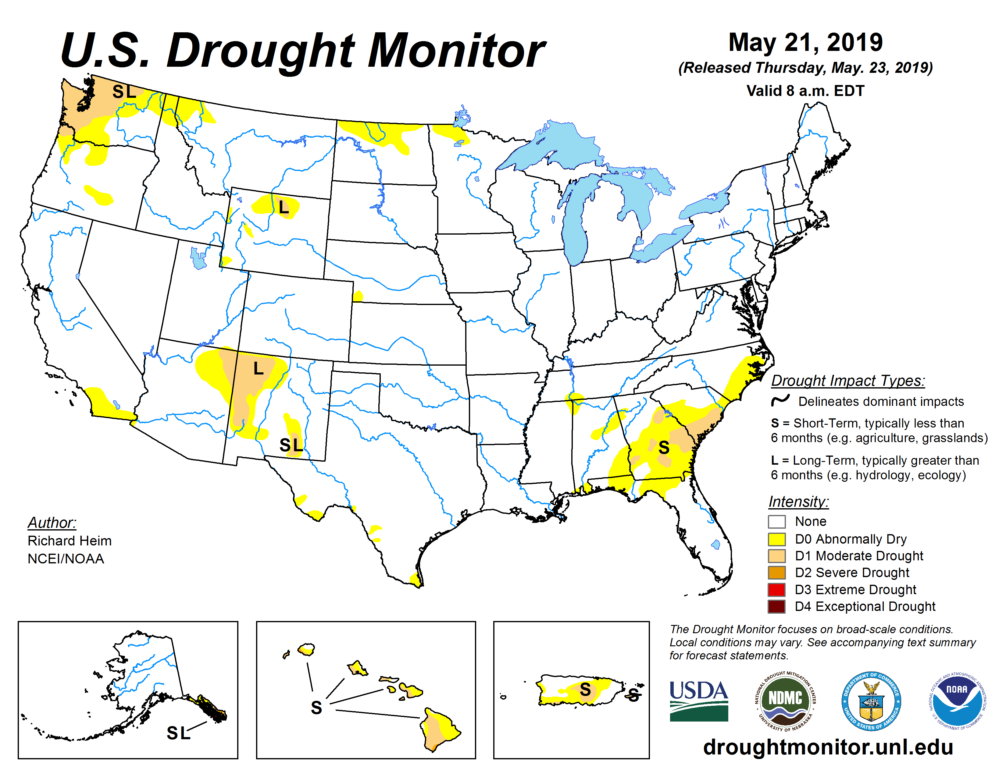 Drought news: U.S. drought significantly reduced, one wet ...