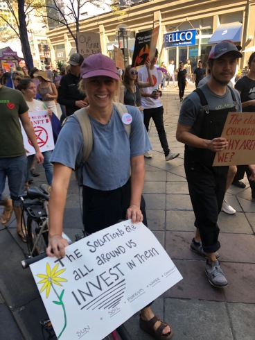 Denver School Strike for Climate, September 20, 2019.