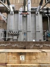 3-phase(?) circuit breaker for the Arizona powerhouse.